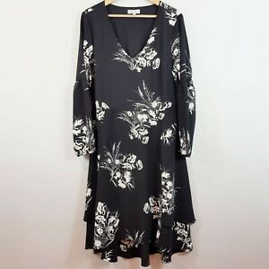TABLE-EIGHT-Womens-Floral-Print-Dress-Size-AU-14