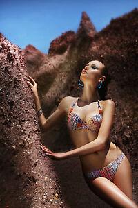 rembourrage feuilles amovible à Woman Push Beachwear Les avec armatures Bikini Up ZOxSxC6