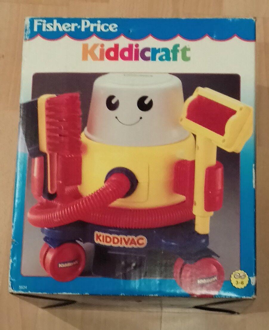 Vintage kiddiecraft kiddie vac boxed - vintage kiddiecraft boxed toy vacuum