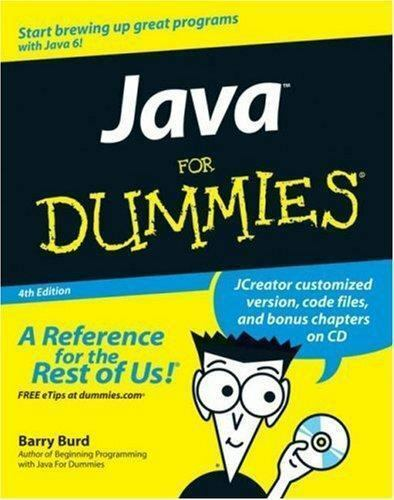 Java For Dummies (Java for Dummies)