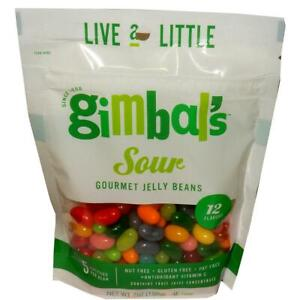 GIMBAL'S Gourmet SOUR Jelly Bean Candy - 3 (7oz) BAGS TASTY & FREE SHIPPING