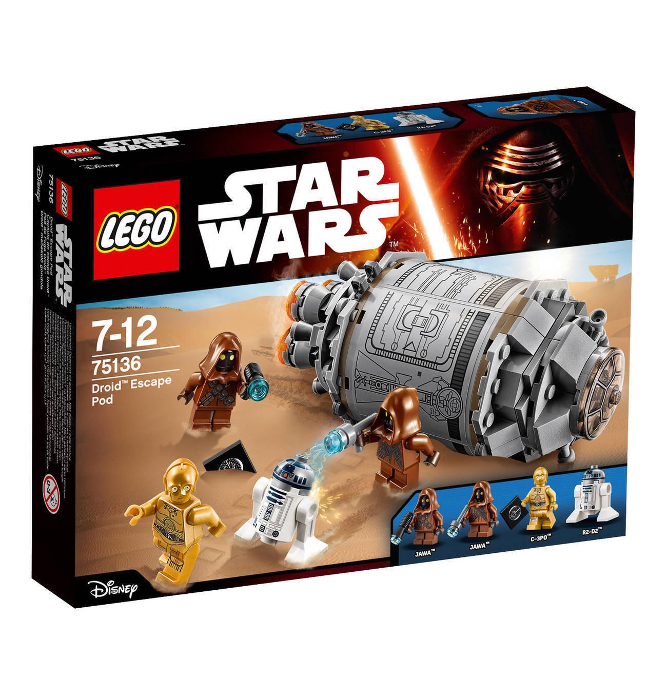 LEGO ® Star Wars 75136 75136 75136 DROID ESCAPE POD Nouveau Neuf dans sa boîte fff9f1
