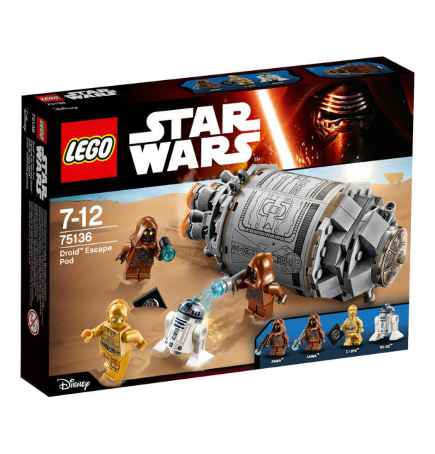 Lego Star Wars 75136 Droid Escape Pod New Sealed