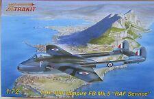 Xtrakit (MPM) 1/72 XK72008  de Havilland DH100 Vampire FB Mk 5