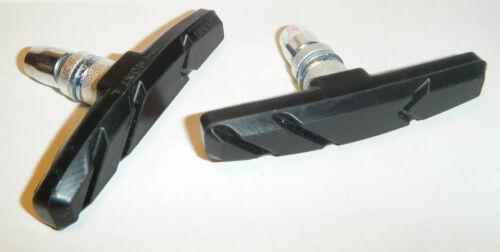 Mountain Bike V brake blocks Black Bicycle Pads 1 2 or Wholesale 10 pairs