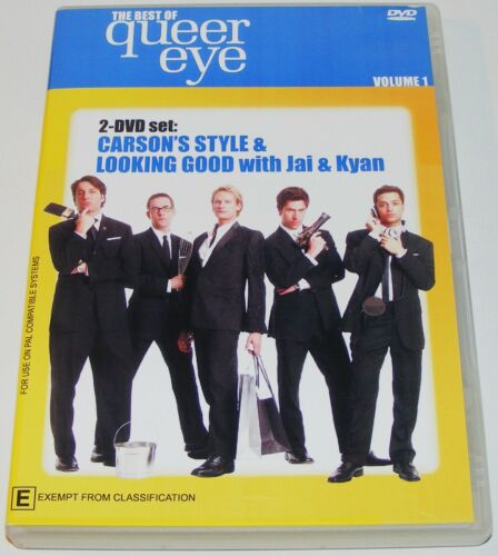1 of 1 - THE BEST OF QUEER EYE- Volume One---( Dvd 2 Disc Set)