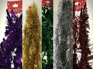 2-M-6-5-FT-ca-1-98-m-Di-lusso-metallico-Decorazioni-Albero-di-Natale-DECORAZIONE-PER-SOGGIORNO-VARI