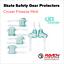 miniature 5 - Roller Skate Safety Gear Protecteurs-croxer taille moyenne-Runner Noir Ou Vert Menthe