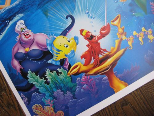 "- B2G1F 11/"" x 17/"" Movie Collector/'s Poster Print The Little Mermaid T3"