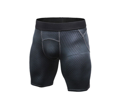 Herren Jogginghose Sporthose Shorts Kompression Kurzehose Trainingshose 3D Bild