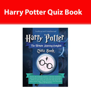 Details about Harry Potter Quiz Book The Ultimate Amazing Complete  9781912511686 paperback NEW