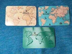 Rolex-Calendar-Cards-1990-2007-Choose-Year