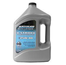 orig. Mercury Quicksilver Motoröl 4L SAE 25W-40  9,98€/1L Motor Öl 92-8M0086224