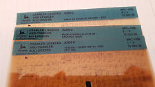 John Deere Parts Catalog Crawler Loader Bulldozer Jd350c Microfiche Fiche Manual