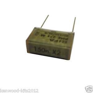 150nF 275Vac X2 Class Capacitor for Kenwood Chef A901 /& A901E Replacement Part