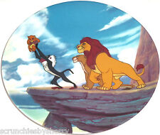 Disney Store Lion King Collector Plate Vintage 1994
