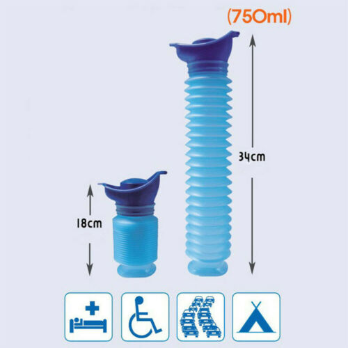 Boys Portable Urinal Travel Camping Toilet Car Potty Kids Pee Bottle Easy Carry