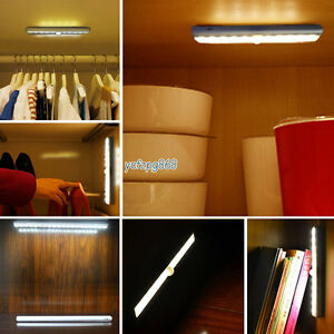 Battery Operated Led Drawer Under Cabinet Light With Pir Sensor