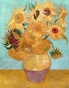 Vincent-van-Gogh-1889-Sunflowers-Fade-Resistant-HD-Art-Print-or-Canvas