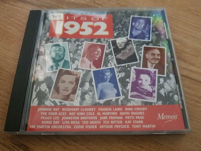 Various Artists - Hits of 1952 - Various Artists CD