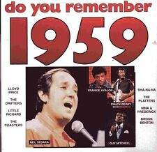 Do you remember 1959 Neil Sedaka, Chuck Berry, Paul Evans, Drifters, Lloy.. [CD]
