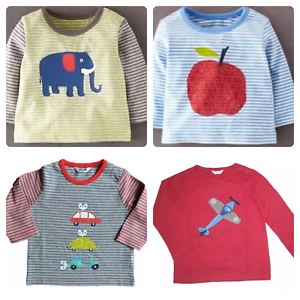 12-18 6-12 18-24 2-3Yrs Ex Baby Boden Blue Elephant Tops T Shirts 3-6