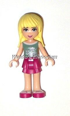 New Lego Friends MiniFigure STEPHANIE from Stephanie/'s Bakery 30113