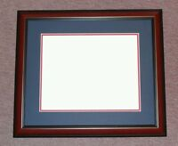 Diploma Matte Mahogany Red Navy Blue Cherry Frame University Tp520 Frames4art