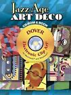 Jazz Age Art Deco CD-ROM and Book by Serge Gladky (Paperback, 2008)