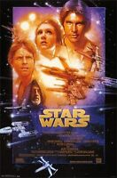 STAR WARS EPISODE IV - A NEW HOPE POSTER  - 22 x 34 LUCAS 2014 MOVIE 13828