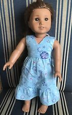 American Girl Doll Kanani With Dress And Panties