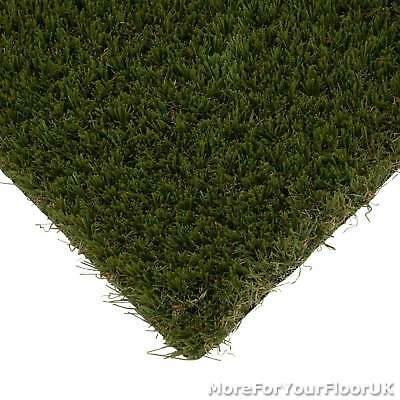 Safflower 32mm Natural Realistic Artificial Grass Lawn Astro Turf 2m 4m 5m CHEAP