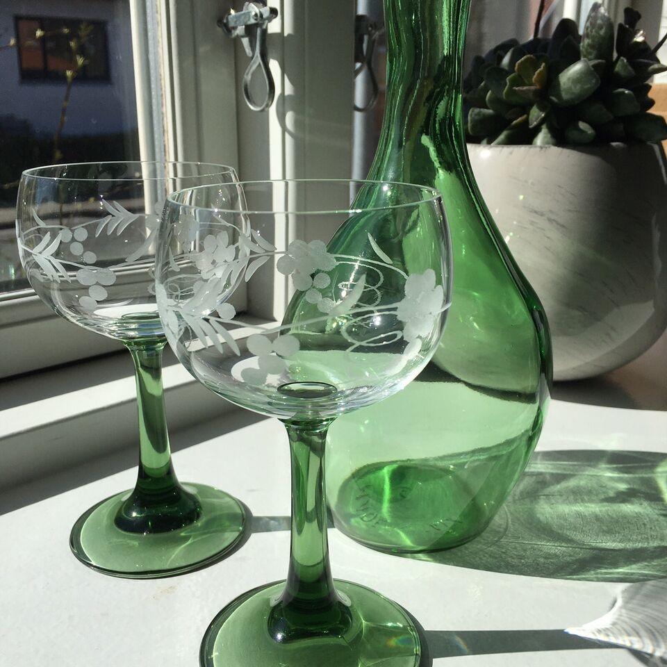 Glas, Grønt glas