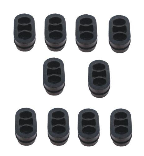 10x Auspuffgummi Gummi Halter Opel Astra G Auspuffanlage Auspuff Auspuffhalter