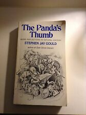 THE PANDA'S THUMB by STEPHEN JAY GOULD 1982 PB NON-FICTION SCIENCE