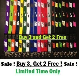 Image is loading Nike-lanyard-ID-badge-and-cell-phone-BUY-
