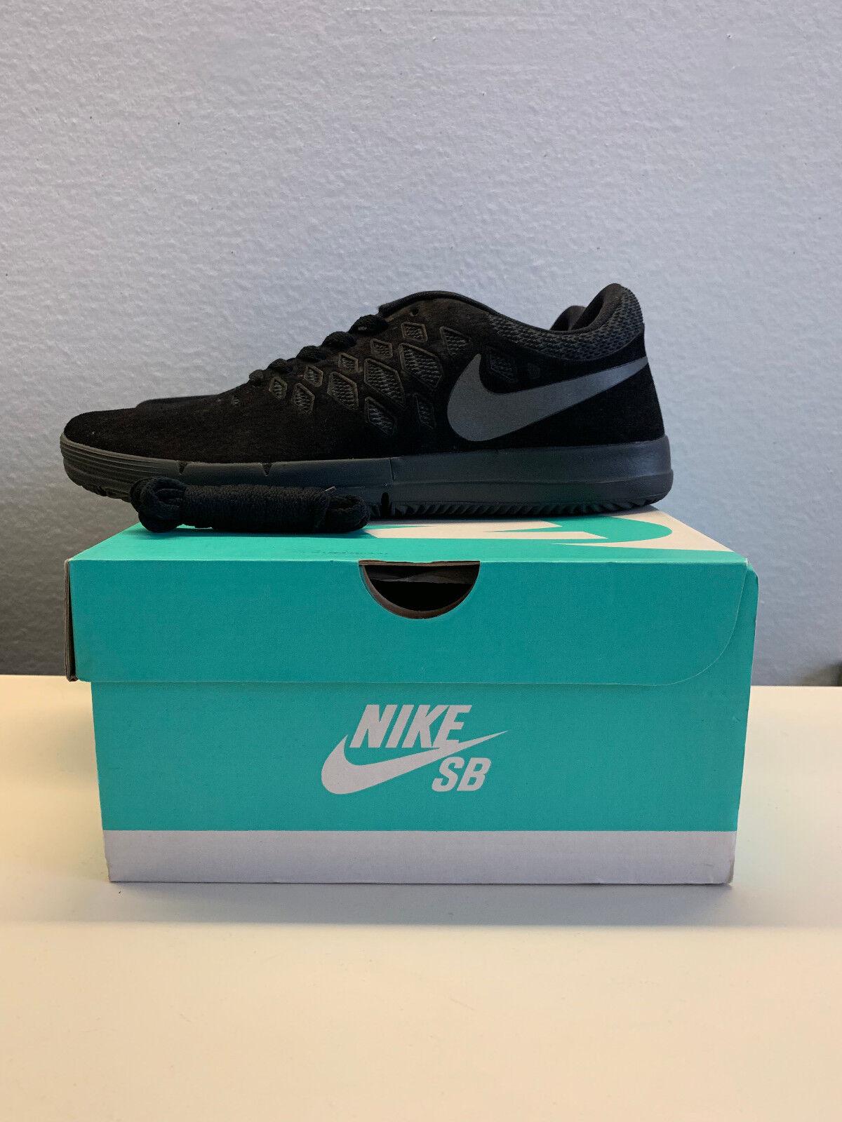NEW Nike Mens Free SB PRM Black Sz 10.5 Cross Training shoes