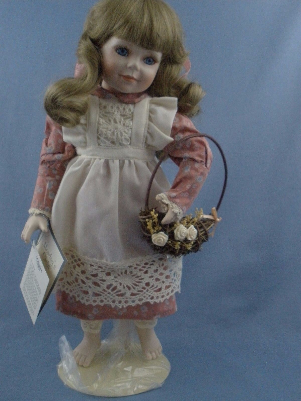 Gorham Days of the Week Monday Porcelain Doll