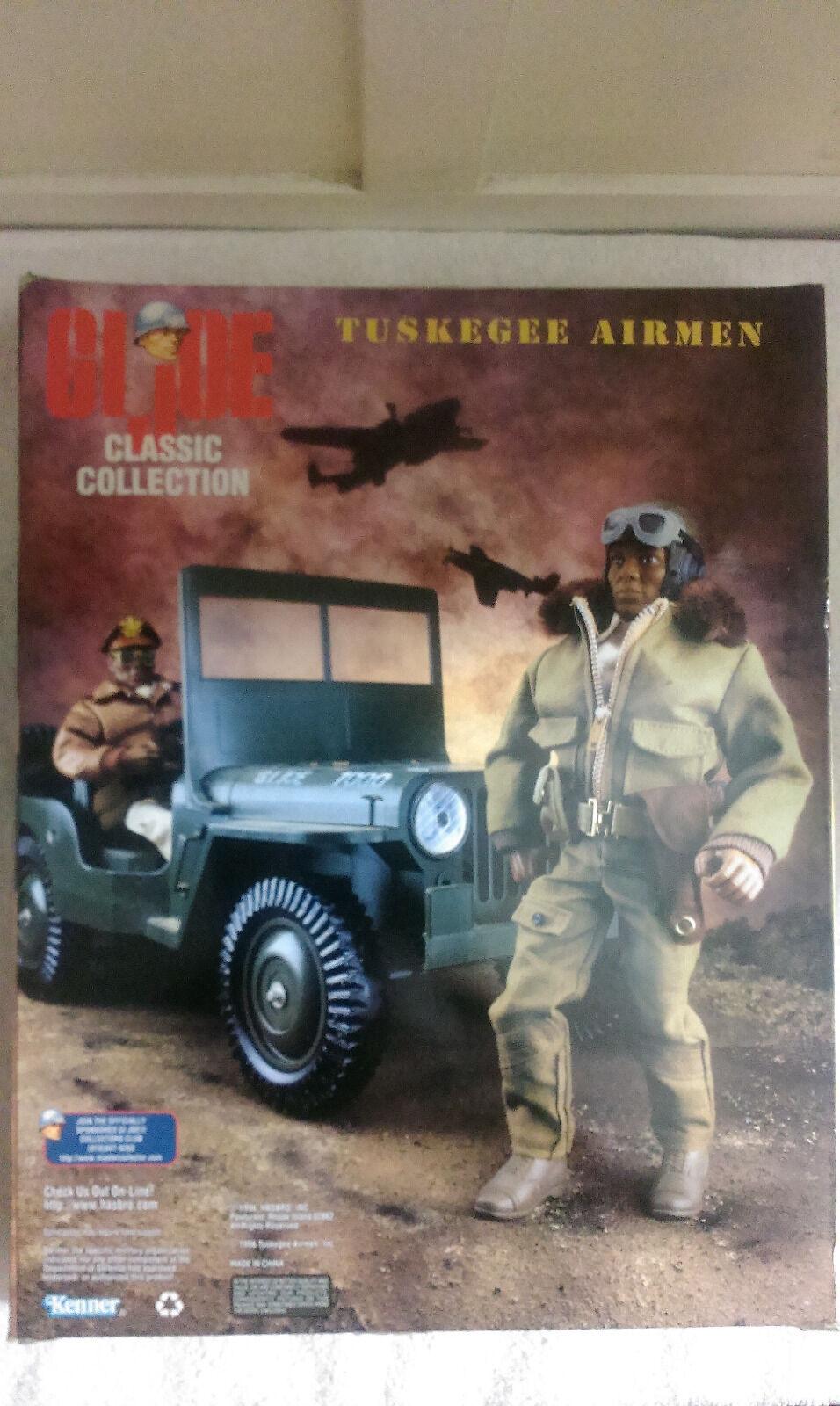 Hasbro Tuskegee Airmen Combatiente Pilot Pilot Pilot azione cifras 92e07f