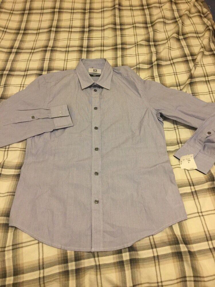 David Bowie Shirt Size Medium Men's Designed By Iceberg Jeans