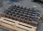 6 x PROK 1635-127-060-1 poly disk type conveyor belt return rollers 1120 x 130mm