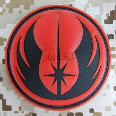 STAR WARS JEDI ORDER Tactical Military Morale 3D PVC Velcro Patch