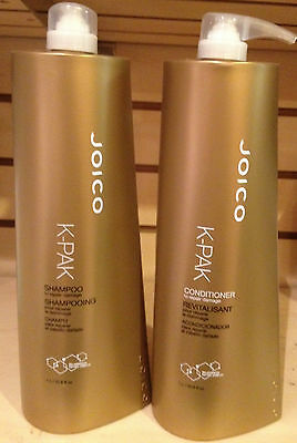 Joico K Pak Shampoo and Conditioner 33.8 oz