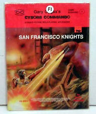 Cyborg Commando-SF Knights RPG Role Play Game Module