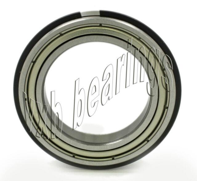 6907 ZZ Z 2ZNR Ball Bearing 35mm Shielded Snap Ring