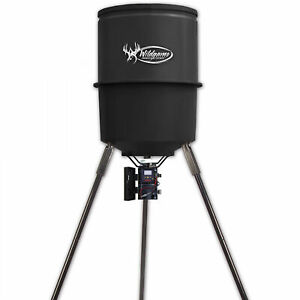 30 Gallon Hunting Deer Game Feeder Bait With Digital Timer Heavy Duty Outdoor