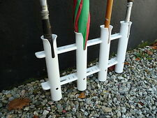 Boat fishing Holder to hold 4 rods  For mounting on sides of boat,or stern,