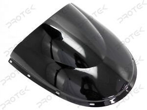 Details about  /Double Bubble Racing Windscreen Screen Black Ducati 996 99-01