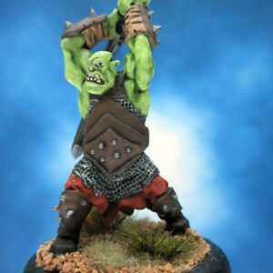 Painted-Reaper-BONES-Miniature-Giant-Orc-Warrior-III