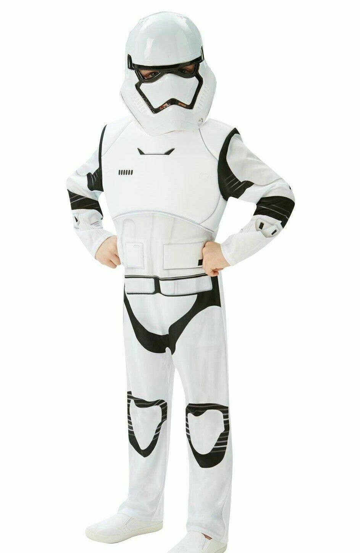 Star Wars Deluxe Storm Trooper Fancy Dress Costume Age 5-6 LN003 NN 09